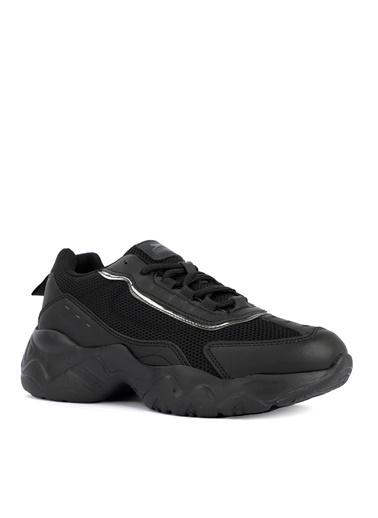 Slazenger Slazenger SOFIA Sneaker Kadın Ayakkabı Pudra Siyah